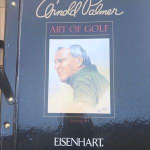 Collectible Arnold Palmer golf decor catalog rare